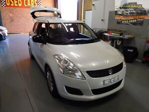 2012 Suzuki Swift FZ GA White 5 Speed Manual Hatchback South Penrith Penrith Area Preview