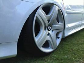 """19"""" Genuine Bentley Continental GT wheels and tyres"""