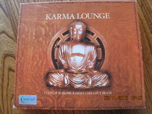 KARMA LOUNGE 3 CD's of Sublime Karma Chillout Beats