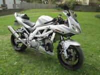 Suzuki SV1000 SK3 Sports touring motorcycle