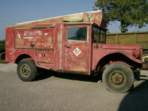 1953 Military Dodge M-56 R2 Crash Truck 4 X 4