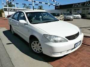 2006 Toyota Camry MCV36R MY06 Altise White 4 Speed Automatic Sedan Victoria Park Victoria Park Area Preview