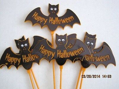 Floral Picks Halloween Witch with Hat, Bat, Flying Witch, Spider, Owl U Choose!