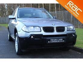 2006 06 BMW X3 2.0 D SE 5D 148 BHP DIESEL