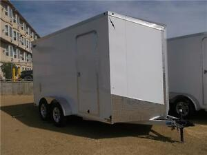 7ft x 14ft Flat Top Enclosed Trailer (LTF714TA2)