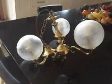 3 globe ceiling light Parkside Unley Area Preview