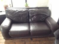 Great Comfy Leather Sofa