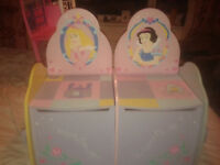 Disney princess storage seat