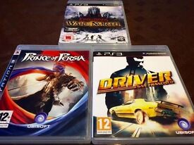 PS3 GAMES FOR SALE IN LIKE NEW CONDITIONS