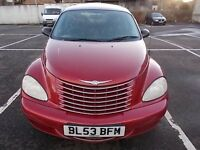 CHRYSLER PT CRUISER 2.0 HATCHBACK 53 REG ,,HALF LEATHER INTERIOR,, MOT JUNE 2017