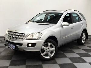 2007 Mercedes-Benz ML350 W164 MY08 Luxury Silver 7 Speed Sports Automatic Wagon Edgewater Joondalup Area Preview