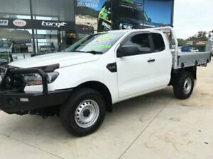 2016 Ford Ranger PX MkII XL 3.2 (4x4) White 6 Speed Manual Super Cab Utility Tuncurry Great Lakes Area Preview