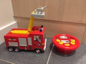 Fireman Sam Drive and Steer Remote Controlled Jupiter Fire Engine