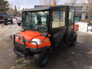 DO NOT MISS THIS ONE!!  2012 RTV 1140, CREW DIESEL, CAB, HEATER!