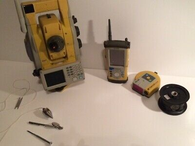 Topcon Is-03 Robotic Imaging Total Station Is 03 Topcon Fc 200 Topcon Rc- 3r