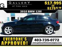 2010 BMW 128i COUPE $179 bi-weekly APPLY NOW DRIVE NOW