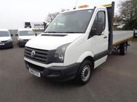 Volkswagen Crafter 2.0 Tdi 136Ps Dropside DIESEL MANUAL WHITE (2016)