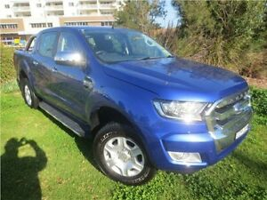 2015 Ford Ranger PX MkII XLT Double Cab Blue 6 Speed Manual Utility Glendale Lake Macquarie Area Preview