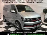 2017 VW Volkswagen Transporter GTi Edition Highline 160BHP silver panel van
