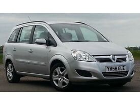 Vauxhall Zafira- PCO Minicab Registered. 3 Available with 2nd PDA included for Cash Jobs.
