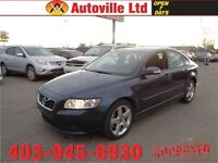 2011 Volvo S40  R-Design T5 Low 78023 Km Financing Available