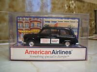 London Taxi Promotional Model by Zyll - for American Airlines USA Issue
