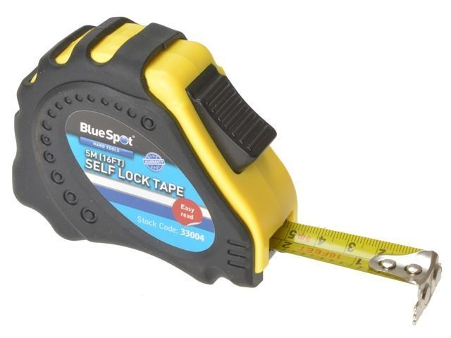 BlueSpot Tools - Easy Read Magnetic Tape 5m/16ft - 33004