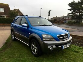 Kia Sorento XT - Full spec, MOT to Jan18, low mileage, full service history, full leather interior