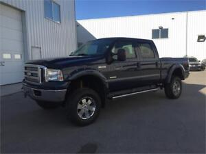 2007 ford f350 lariat lifted diesel crew $14995
