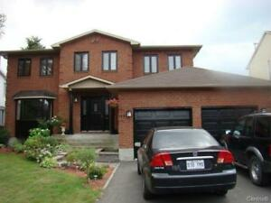 SPACIOUS COTTAGE, SECTOR R of BROSSARD, AVAILABLE NOW
