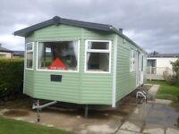 Double Glazed & Central Heating Caravan on 5* caravan park north wales