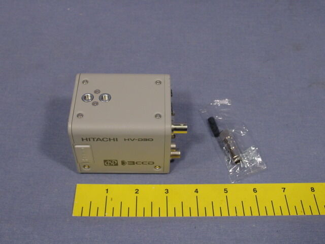 """Hitachi HV-D30 Compact 3-CCD Camera """"B"""" Stock Tested and fully functional"""