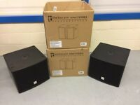 "BRAND NEW! 350W pro active 12"" bass bins x2"