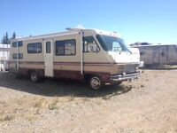 1983  P30 Pace Arrow Motor Home - 7000$ or OBO