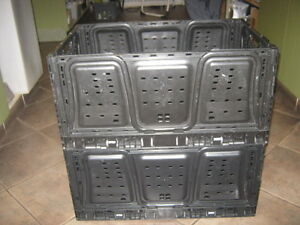 Foldable, Stackable, Storage Bins!