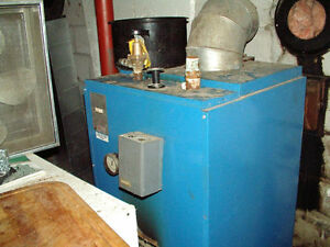 SALE: Great NY Thermal oil boiler. Used only for 3 seasons.