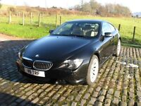 BMW 630i Sport Coupe 2007 (57 plate)Auto, Black 57300 miles