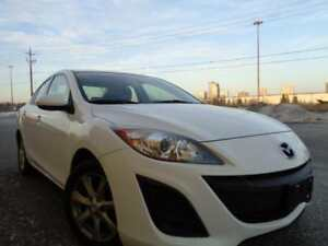 2011 MAZDA 3 AUTOMATIC CLEAN AND LOADED WITH POWER OPTIONS 159900