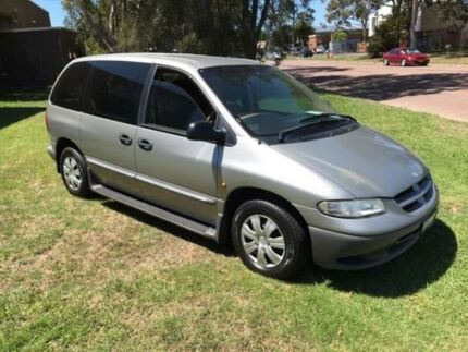 1997 Chrysler Voyager GS SE Silver 4 Speed Automatic Wagon
