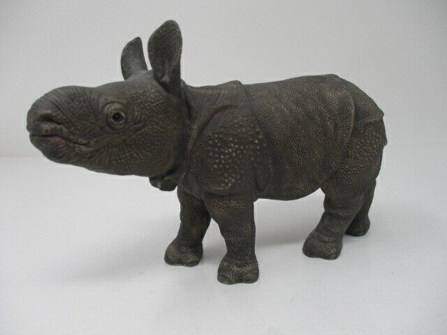 "LENOX Smithsonian 1992 ""Greater Asian Rhino"""