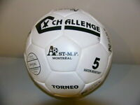 Pro-Beach volley ball and Montreal Impact Soccer ball