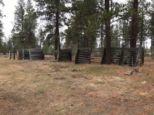 Free Old Wood Corrals