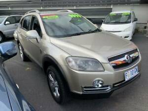 Holden Captiva 2008 60th anniversary 7 SEATER Turbo diesel Wagon Moonah Glenorchy Area Preview