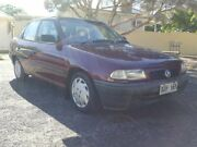 1996 Holden Astra TR City Red 4 Speed Automatic Sedan Enfield Port Adelaide Area Preview