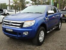 2015 Ford Ranger PX XLT 3.2 (4x4) Blue 6 Speed Manual Dual Cab Utility South Nowra Nowra-Bomaderry Preview