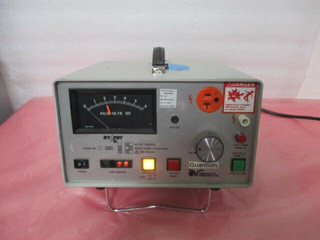 Associated Research 5060AT AC Hypot and Ground Continuity Test Set, 451277
