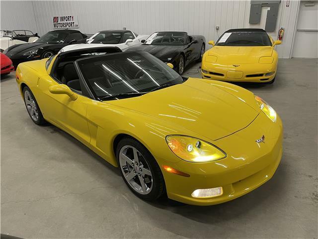 2007 Yellow Chevrolet Corvette Coupe 3LT | C6 Corvette Photo 7