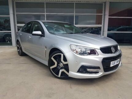 2015 Holden Commodore VF MY15 SV6 Storm Silver 6 Speed Sports Automatic Sedan