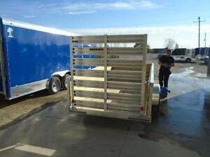 FULLY LOADED 12' HIGH SIDE ALUMINUM UTILITY - SALE PRICING!! London Ontario image 3