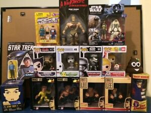 HUGE ACTION FIGURE COLLECTIBLE LOT SAVE $65 IF U TAKE IT ALL